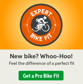 New bike? Whoo-Hoo! Feel the difference of a perfect fit {cite} Get a Pro Bike Fit